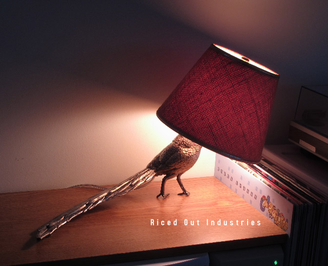 T-114 Touch-Sensitive Birdlamp (Intoxicated)